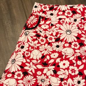 🖤❤️ Red Floral Skirt ❤️🖤